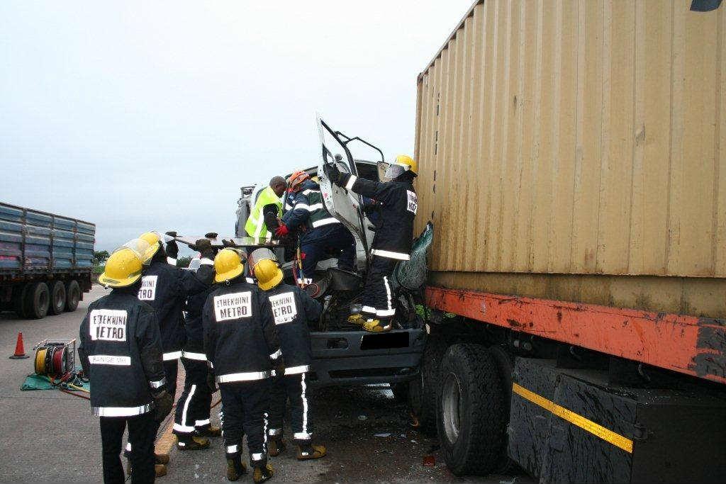 ST. Louis truck accident scene